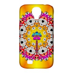 Fantasy Flower In Tones Samsung Galaxy S4 Classic Hardshell Case (pc+silicone)