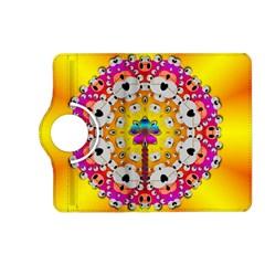Fantasy Flower In Tones Kindle Fire Hd (2013) Flip 360 Case