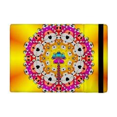Fantasy Flower In Tones Ipad Mini 2 Flip Cases