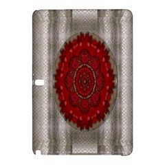 Strawberry  With Waffles And Fantasy Flowers In Harmony Samsung Galaxy Tab Pro 12 2 Hardshell Case