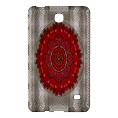 Strawberry  With Waffles And Fantasy Flowers In Harmony Samsung Galaxy Tab 4 (7 ) Hardshell Case