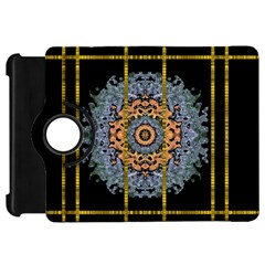 Blue Bloom Golden And Metal Kindle Fire Hd 7
