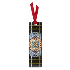 Blue Bloom Golden And Metal Small Book Marks