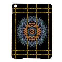 Blue Bloom Golden And Metal Ipad Air 2 Hardshell Cases