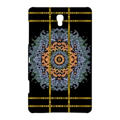 Blue Bloom Golden And Metal Samsung Galaxy Tab S (8 4 ) Hardshell Case