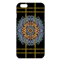 Blue Bloom Golden And Metal Iphone 6 Plus/6s Plus Tpu Case