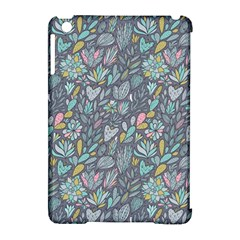 Cactus Pattern Green  Apple Ipad Mini Hardshell Case (compatible With Smart Cover)