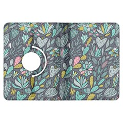 Cactus Pattern Green  Kindle Fire Hdx Flip 360 Case