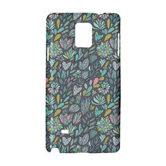Cactus Pattern Green  Samsung Galaxy Note 4 Hardshell Case