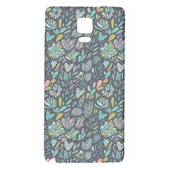 Cactus Pattern Green  Galaxy Note 4 Back Case