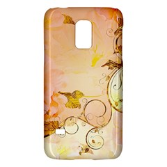 Wonderful Floral Design In Soft Colors Galaxy S5 Mini