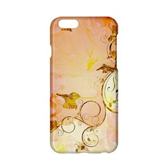 Wonderful Floral Design In Soft Colors Apple Iphone 6/6s Hardshell Case