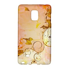 Wonderful Floral Design In Soft Colors Galaxy Note Edge