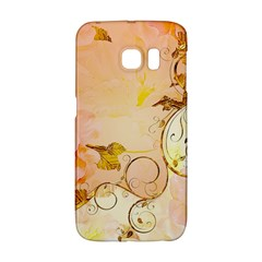 Wonderful Floral Design In Soft Colors Galaxy S6 Edge