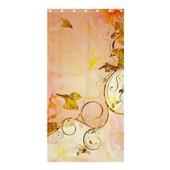Wonderful Floral Design In Soft Colors Shower Curtain 36  X 72  (stall)
