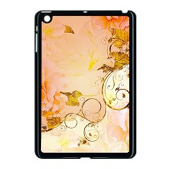 Wonderful Floral Design In Soft Colors Apple Ipad Mini Case (black)