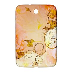 Wonderful Floral Design In Soft Colors Samsung Galaxy Note 8 0 N5100 Hardshell Case