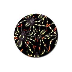 Tarantulas Magnet 3  (round)