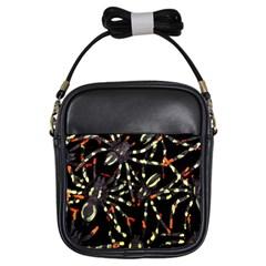 Tarantulas Girls Sling Bags