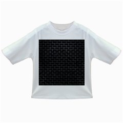 Brick1 Black Marble & Gray Infant/toddler T Shirts