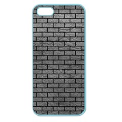 Brick1 Black Marble & Gray Leather (r) Apple Seamless Iphone 5 Case (color)