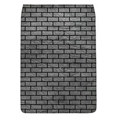 Brick1 Black Marble & Gray Leather (r) Flap Covers (l)