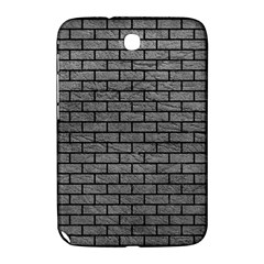 Brick1 Black Marble & Gray Leather (r) Samsung Galaxy Note 8 0 N5100 Hardshell Case