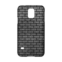 Brick1 Black Marble & Gray Leather (r) Samsung Galaxy S5 Hardshell Case