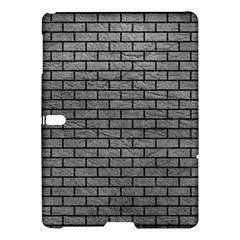 Brick1 Black Marble & Gray Leather (r) Samsung Galaxy Tab S (10 5 ) Hardshell Case