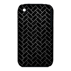 Brick2 Black Marble & Gray Leather Iphone 3s/3gs