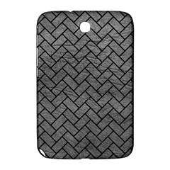 Brick2 Black Marble & Gray Leather (r) Samsung Galaxy Note 8 0 N5100 Hardshell Case