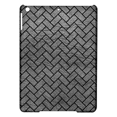 Brick2 Black Marble & Gray Leather (r) Ipad Air Hardshell Cases