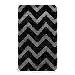 Chevron9 Black Marble & Gray Leather Memory Card Reader