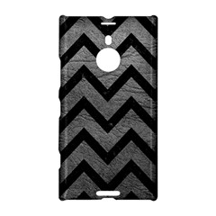 Chevron9 Black Marble & Gray Leather (r) Nokia Lumia 1520