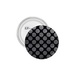 Circles2 Black Marble & Gray Leather 1 75  Buttons