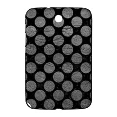 Circles2 Black Marble & Gray Leather Samsung Galaxy Note 8 0 N5100 Hardshell Case