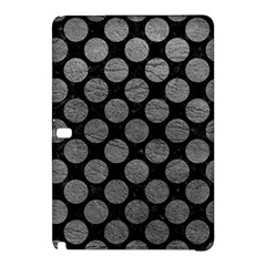 Circles2 Black Marble & Gray Leather Samsung Galaxy Tab Pro 12 2 Hardshell Case
