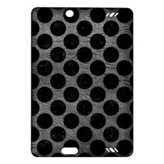 Circles2 Black Marble & Gray Leather (r) Amazon Kindle Fire Hd (2013) Hardshell Case