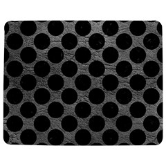 Circles2 Black Marble & Gray Leather (r) Jigsaw Puzzle Photo Stand (rectangular)