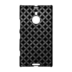 Circles3 Black Marble & Gray Leather Nokia Lumia 1520