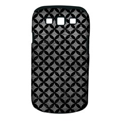 Circles3 Black Marble & Gray Leather (r) Samsung Galaxy S Iii Classic Hardshell Case (pc+silicone)