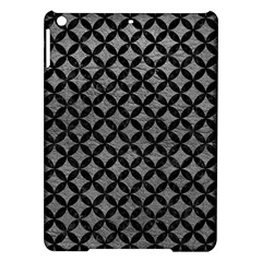 Circles3 Black Marble & Gray Leather (r) Ipad Air Hardshell Cases