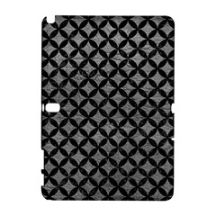 Circles3 Black Marble & Gray Leather (r) Galaxy Note 1