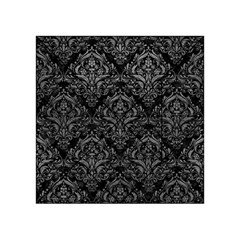 Damask1 Black Marble & Gray Leather Acrylic Tangram Puzzle (4  X 4 )