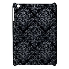 Damask1 Black Marble & Gray Leather Apple Ipad Mini Hardshell Case