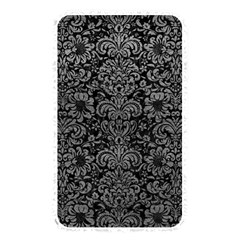 Damask2 Black Marble & Gray Leather Memory Card Reader
