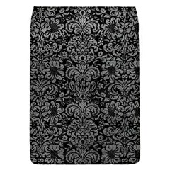 Damask2 Black Marble & Gray Leather Flap Covers (s)