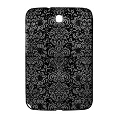 Damask2 Black Marble & Gray Leather Samsung Galaxy Note 8 0 N5100 Hardshell Case