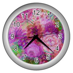 Acid Vintage Wall Clocks (silver)