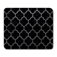 Tile1 Black Marble & Gray Leathertile1 Black Marble & Gray Leather Large Mousepads